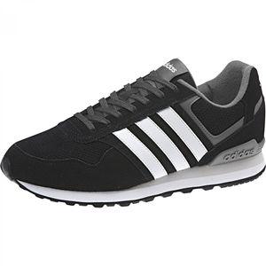 adidas Performance Schuhe Sneaker NEO Herren 10k Low-Top BB9787 BB9788, Farbe:Schwarztöne, Größe:UK 9.5 - EUR 44 - 28 cm