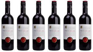 6x Salento Rosso Apulien 2018 – Terre di Campo Sasso, Puglia – Rotwein
