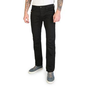 Diesel Herren Marken Bootcut Jeans Waykee, blau, Farbe:Schwarz, Größe:33, Herstellerfarbe:black