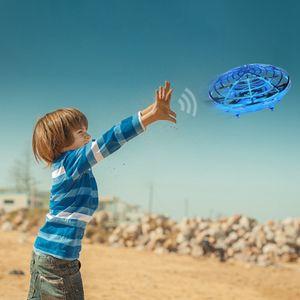 Mini  Drohne handbetriebene UFO Levitation LED RC Hubschrauber fliegende Spielzeug Geschenke für Kinder