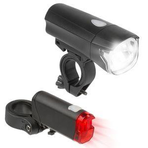 Bergsteiger Fahrradlicht, Licht LED Set, Lampenset, Fahrradbeleuchtung, Original Bergsteiger Fahrrad-Zubehör