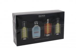 Hugo Boss Geschenkset 2 X 5ml Bottled EDT + 5ml Hugo Man EDT + 5ml Boss The Scent EDT