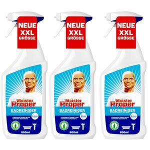 3 x Meister Proper Badspray mit Frischeduft von Febreze 800ml (3 x 800ml)