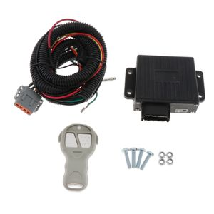 12V / 24V Elektrowinde Drahtloses Fernbedienungssystem Kit für LKW ATV Winde