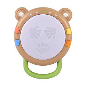 Tragbare Baby Hand Trommel Schlagen Instrument Spielzeug Musik Percussion für Säuglings Frühen Lernen Entwicklungs