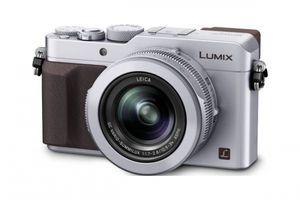 Panasonic DMC-LX100EGS silber LUMIX 4K Video