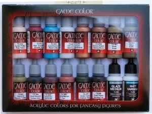 Game Color Set Vallejo Specialist 16x 17ml 72297