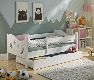 Kinderbett Chrisi 160x80cm  incl. Schublade + Rollrost + Matratze / das Original nur von uns!