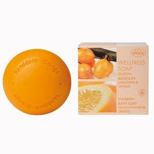 SPEICK Wellness Dusch + Badeseife Sanddorn Orange 200 g