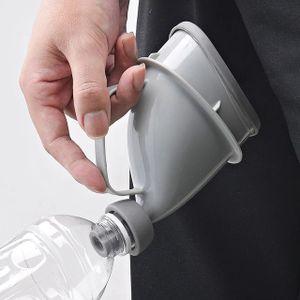 Tragbare Toilette Aufsatz f. Urin- Flasche Urinal WC Männer Frau Reise Campingtoiletten