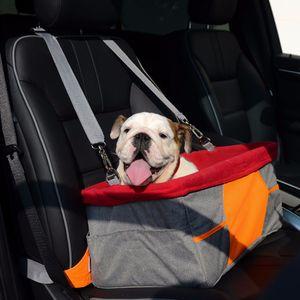 Wasserdichte Tragetasche Haustier Autositz Transporttasche Transportbox  für kleine Hunde und Katzen