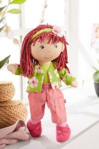 HABA Kleiderset Blumenzauber, Puppenkleidung für 30 cm Puppen, 3-tlg., Polyester, 305978
