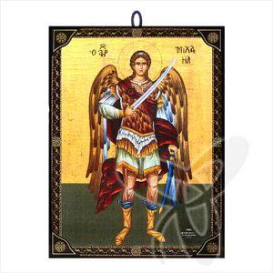 60179 Ikone Erzengel Michael icon aus Griechenland Икона Архангел Михаил