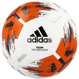 adidas TEAM TOP REPLIQUE Fußball Ball Weiß, Größe:5