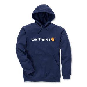 Carhartt Kapuzenshirt mit Logo, Farbe:dunkelblau, Größe:XL