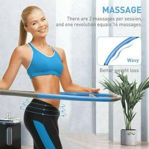 Hula Hoop,  und Massage für Erwachsene und Kinder Hula Hoop, 6-8 abnehmbarer Hula Hoop, geeignet für Fitness / Sport / Zuhause / Büro / Bauchformung (1,0 kg)