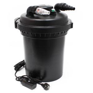 SunSun CPF-500 Druckteichfilter 30000 L UVC 18 W Teichklärer Teichfilter Filter