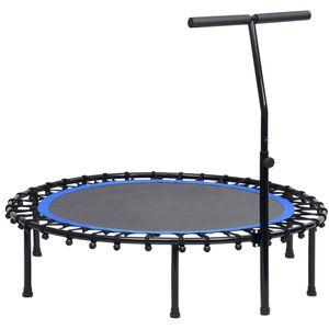 vidaXL Fitness Trampolin mit Griff 122 cm