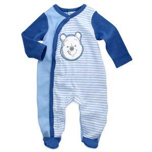 Disney Winnie Pooh Baby Strampler Jungen blau 62/68 (3-6 Monate)