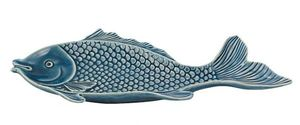 Fisch-Platte, Servierteller für Fisch und Meeresfrüchte Keramik 34 cm