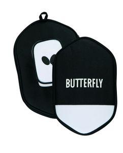 Butterfly 2x Timo Boll SG11 Tischtennisschläger + Tischtennishülle + 6x 40+ 3*** Tischtennisbälle | Tischtennisset Tischtennis Set TT Tabletennis
