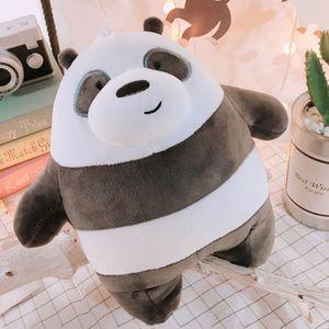 Panda 40 cm Bärenpuppe Plüschtiere nackte Bären Plüschtier Plüsch-Eisbär Grizzly Panda Daunenbaumwolle Karikatur