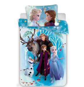Disney Frozen 2 - Baumwoll-Bettwäsche  - Set 100x135  40x60 cm