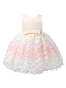 IEFIEL Baby Mädchen Kleid Taufkleid Festlich Prinzessin Tutu Kleid Hochzeit Geburtstag Festzug Babybekleidung