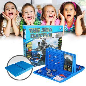 Klassisches Schlachtschiff-Spiel Strategie Brettspiel Sea Battle Toy Retro-Serie fš¹r Kinder