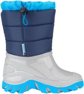 Winter-grip Kinder Schneestiefel Jr Welly Walker Marine/Blau/Grau Winter-Schuhe, Größe:34/35