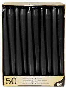 PAPSTAR Leuchterkerzen 22 mm puder 50er Pack