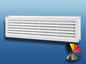 Türlüftungsgitter MV450/2 doppelseitig : standard weiß Ausführung: standard Farbe: weiß