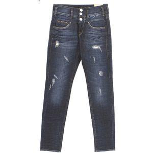 18924 Herrlicher, Raya Boy,  Damen Jeans Hose, Stretchdenim, darkblue vintage, W 25 L 32
