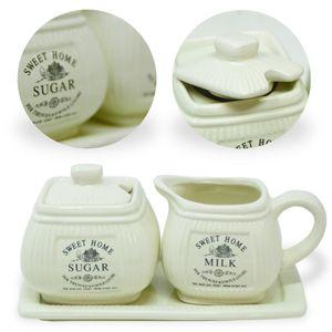 Vintage Landhaus Impressionen Milchkännchen & Zuckerdose