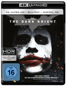 Batman:  Dark Knight (UHD+BR) 2Disc Min: 153DD5.1WS  +UV