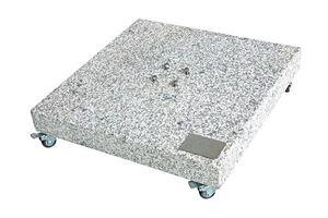 Doppler Sonnenschirmständer Grundplatte Granitplatte 140kg 80x80x14cm