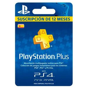 Sony Ps Plus 12 Months Voucher  Europe PAL