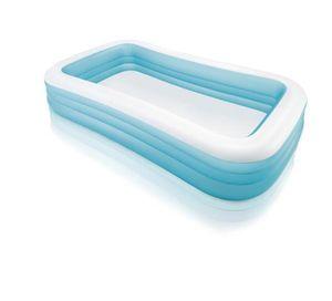 Intex 58484NP - Schwimmbecken Family blau