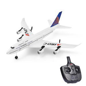 Wltoys XKS A150-C RC Flugzeug 2.4G Flugzeug RC Flugzeug 2CH Fernbedienung EPP Flugzeug Miniaturmodell Flugzeug Outdoor Toy 1 Batterie