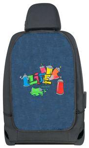 KidsExperts Rückenlehnenschutz Graffiti ca. 62 x 40 cm blau, 26184