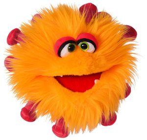 Living Puppets Handpuppe Gisa Grippchen (orange)