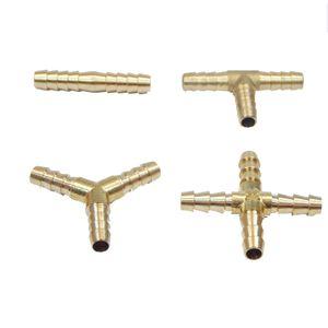 Messing Schlauchverbinder 6mm Y-Stück