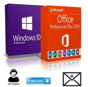 Windows 10 Pro + Office 2019 Pro Plus KEY Download