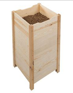 Pellet box ( für 3 Säcke à 15kg )