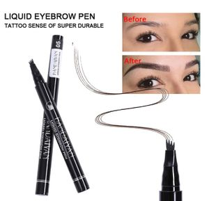 Augenbrauenstift Handaiyan® Tattoo Stift Microblading Gabelspitze Farbe 1 LIGHT BROWN