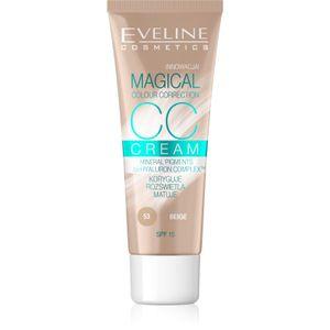 Eveline Magical Colour Correction CC Cream Spf15 53 Beige 30ml
