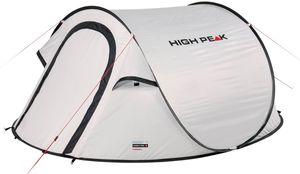 High Peak aufstellzelt Vision 3 235 x 180 x 100 cm weiß