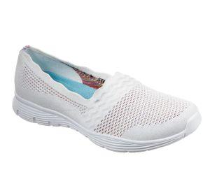 Skechers Damen Slipper in Weiß, Größe 39