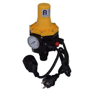 Agora-Tec® Durchflusswächter mit Trockenlaufschutz AT-DWv-3 verkabelt- ,