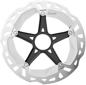 Shimano RT-MT800 Bremsscheibe Center-Lock silver/black Durchmesser 160mm